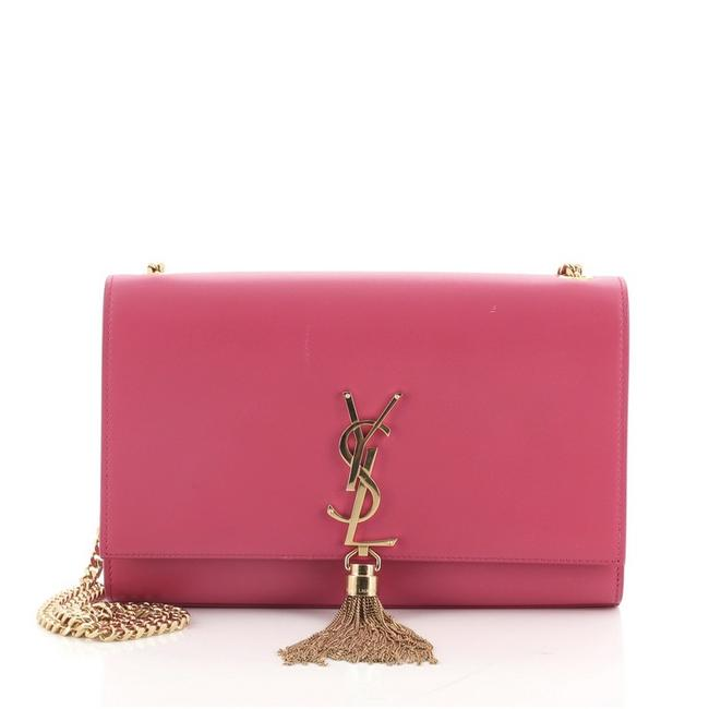 Item - Crossbody Classic Monogram Tassel Medium Pink Leather Shoulder Bag