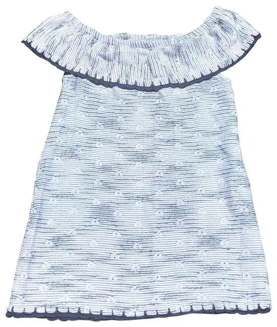 Item - Blue Ademia Short Casual Dress Size 4 (S)