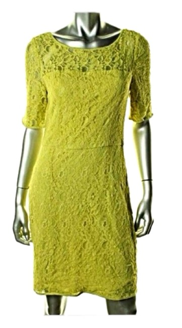 Item - Chartreuse Green Party Cocktail Dress Size 4 (S)