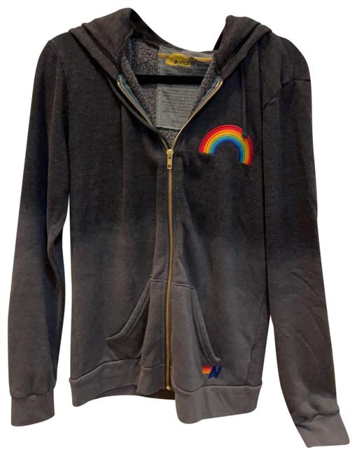 Item - Ombre Grey... Charcoal Down To Lighter Grey. Rainbow Activewear Outerwear Size 8 (M)