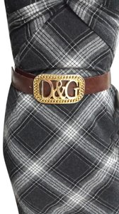 Dolce & Gabbana DOLCE & GABBANA LEATHER BELT