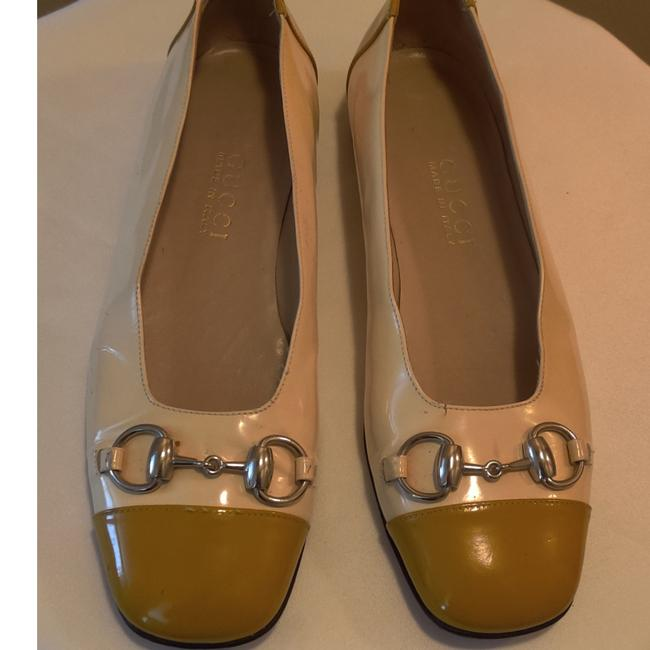 Item - Mustard and Cream 101 1397 Flats Size EU 38.5 (Approx. US 8.5) Wide (C, D)