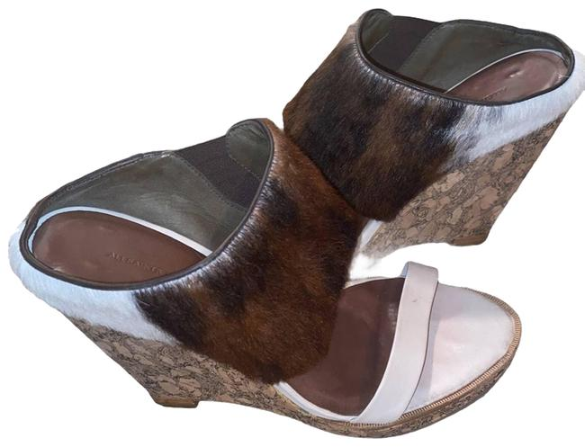 Item - Brown Pony-style Calfskin Wedges Size EU 40 (Approx. US 10) Regular (M, B)