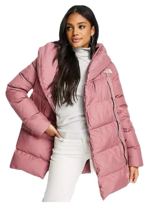 Item - Pink Bagley Down Puffer Coat Size 8 (M)