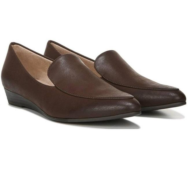 Item - Brown Soul Wish Womens Slip-on Loafers Wedges Size US 10 Regular (M, B)