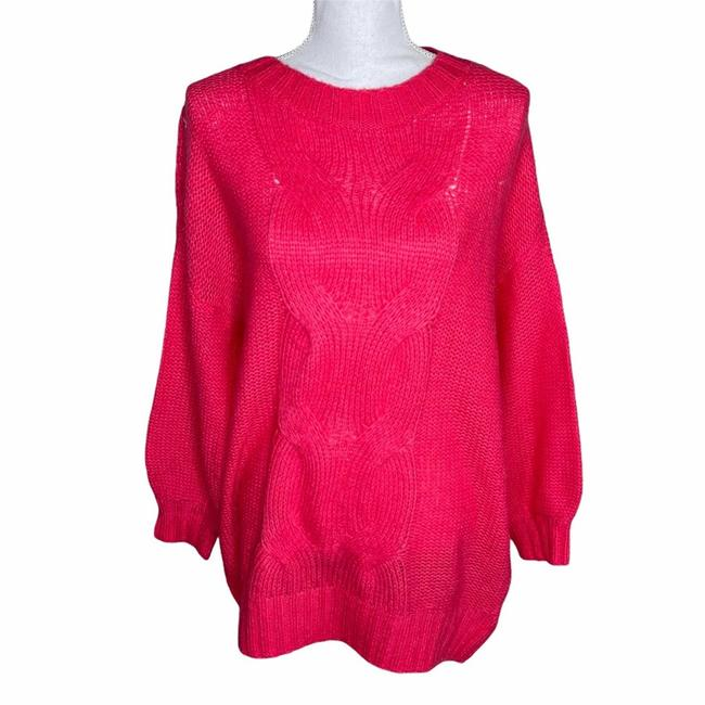 Item - Nwot Oversized Bright Pink Sweater