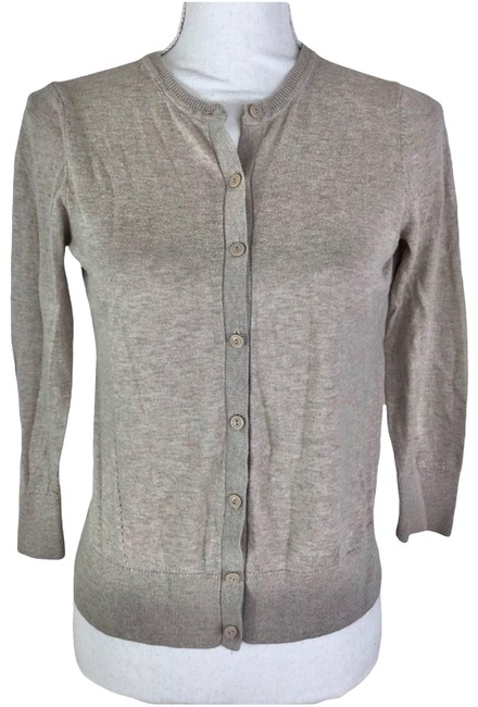 Item - Tan Women's Sweater Small Cardigan Size 4 (S)