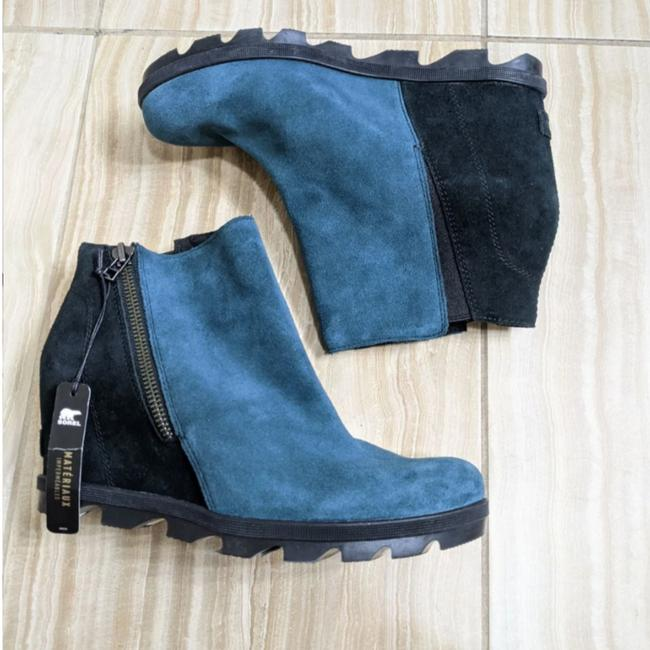 Item - Blue Joan Of Arctic Wedge Teal Boots/Booties Size US 11 Regular (M, B)