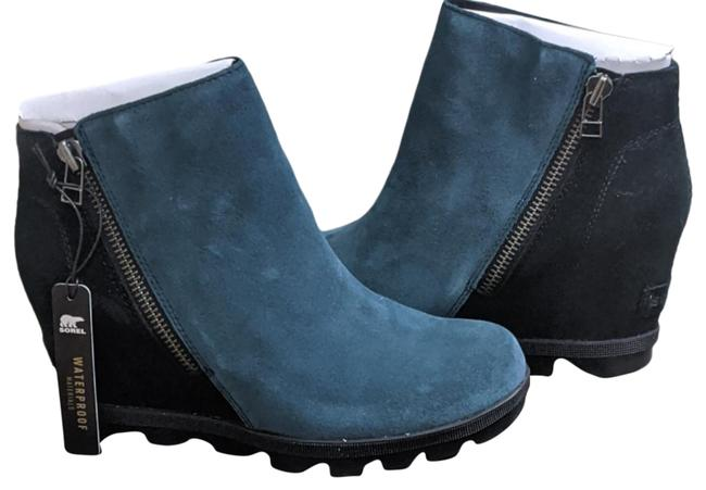 Item - Teal Of Arctic Wedge Boots/Booties Size US 7.5 Regular (M, B)