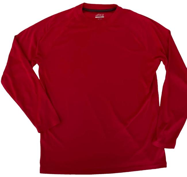 Item - Red Tru-wick Long Sleeve Athletic Activewear Top Size 4 (S)