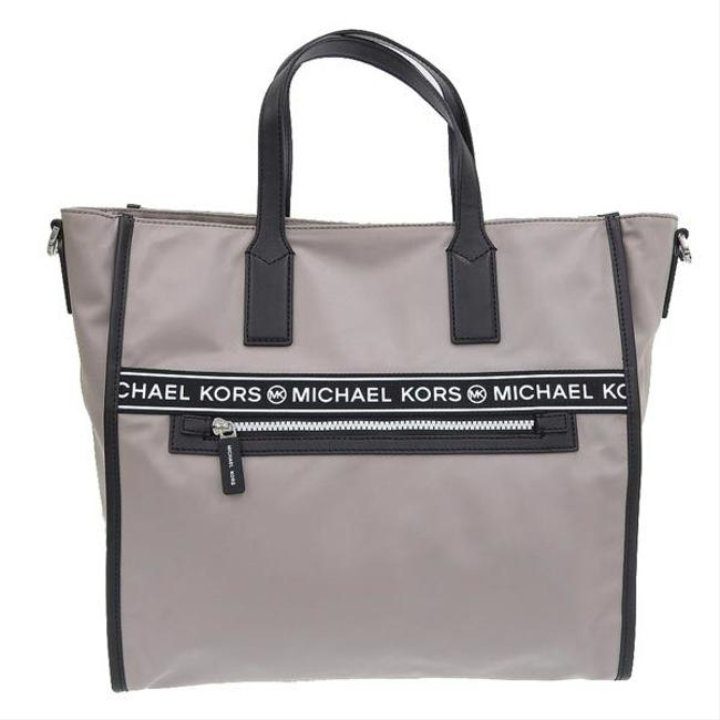 Item - Tote Kenly 2way 35h9sy9t3c Leather Gray Nylon Shoulder Bag