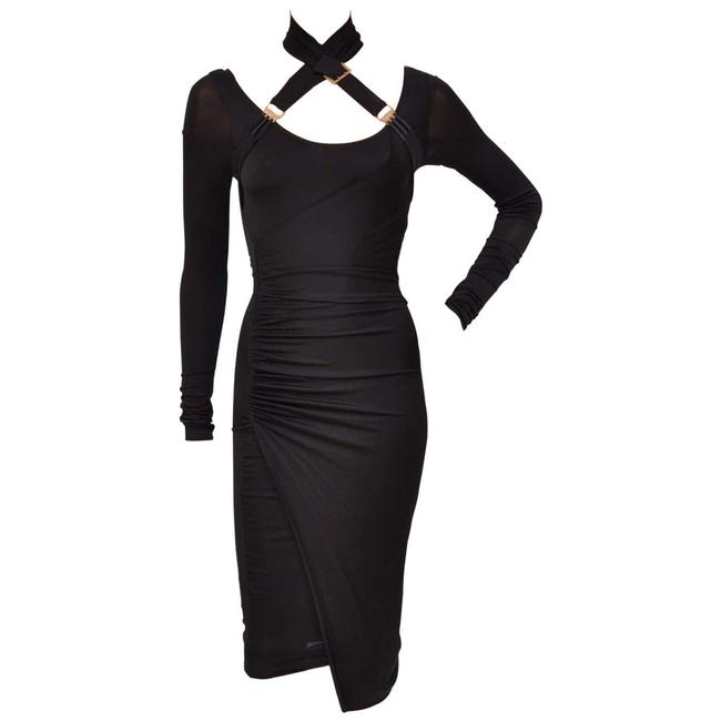 Item - Black W F/W 2003 Tom Ford For Mid-length Night Out Dress Size 6 (S)