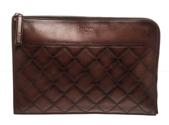 Item - Brown Leather Off The Road Wallet