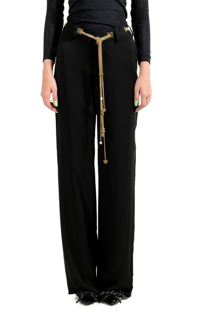 Item - Black Women's Silk Chain Belted Dress Pants Size 2 (XS, 26)