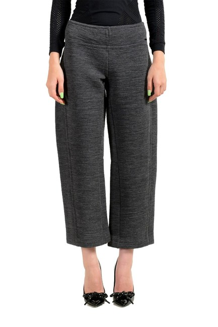 Item - Gray Women's Wool Flat Front Casual Pants Size 4 (S, 27)