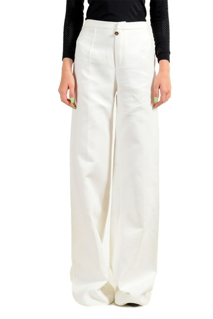 Item - White Women's Flat Casual Pants Size 4 (S, 27)