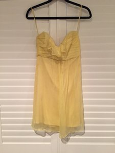 Amsale Yellow Dress