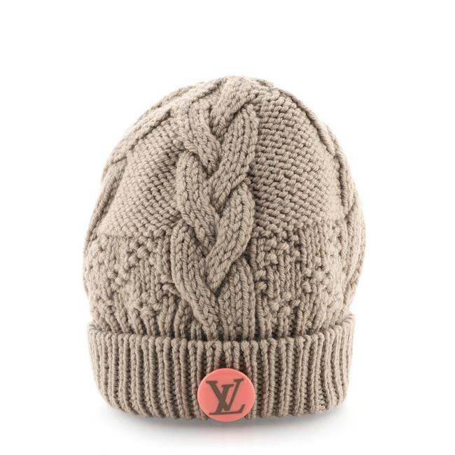 Item - Brown Beanie Knit Wool and Cotton Hat