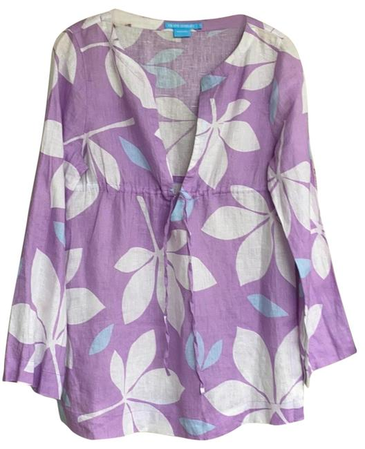 Item - Purple/White Na Cover-up/Sarong Size 6 (S)