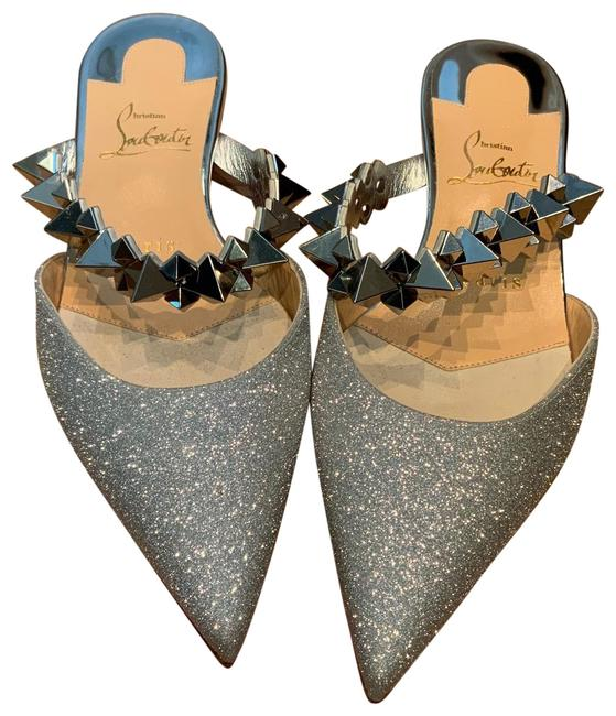 Item - Silver Planet Choc Flats Size EU 36 (Approx. US 6) Regular (M, B)