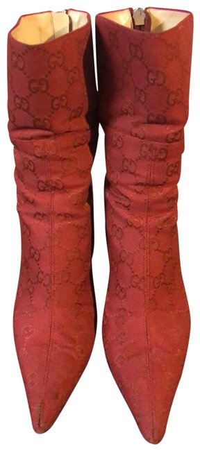 Item - Red 115155f4000 Boots/Booties Size US 7 Regular (M, B)