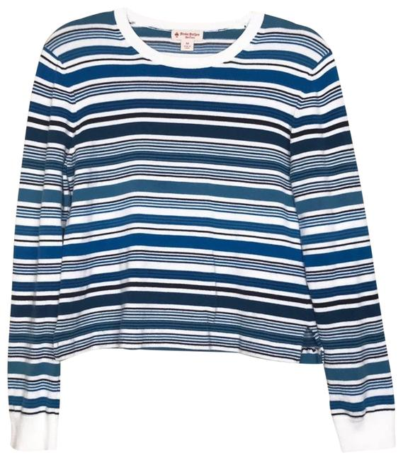 Item - Stripe Long Sleeve Knit Blouse Size 8 (M)