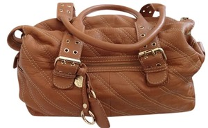 tabitha Leather Leather Simmons Tan Shoulder Bag
