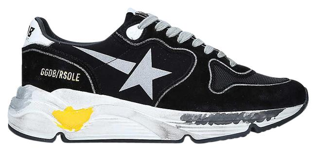 Item - Black 90178 Embossed Low-top Suede and Textile Trainers Sneakers Size EU 38 (Approx. US 8) Regular (M, B)