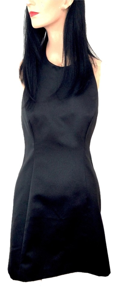 Anne Klein Black Halter Top See Jewelry On Model Backless