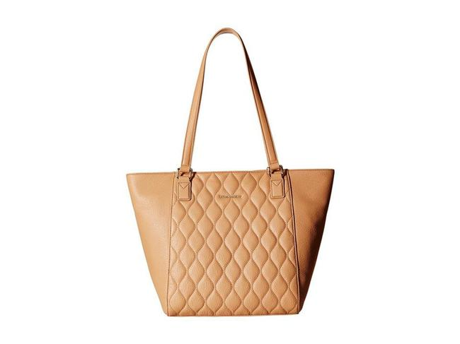 Item - Bag Quilted Ella - Sycamore Nude Leather Tote