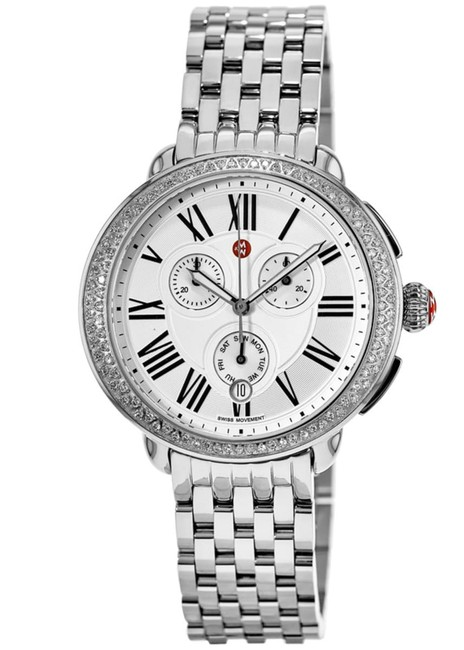 Item - Silver New Serein Diamond Womens Stainless Steel Mww21a000001 Watch