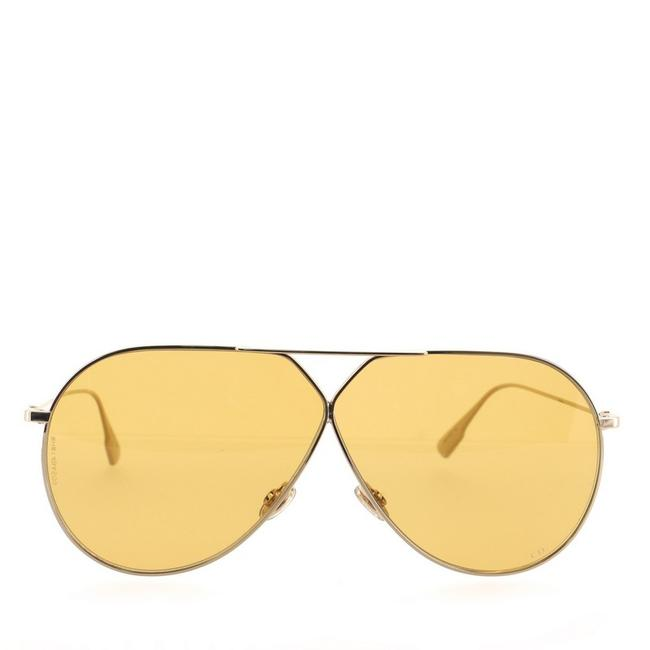 Item - Gold Stellaire 3 Aviator Metal Sunglasses