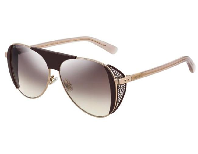 Item - Brown Gold Raves-0t7nq / Gradient Sunglasses