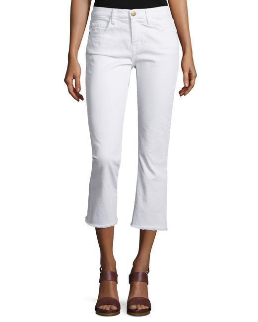Item - White Current/ The Kick In Sugar (White) Capri/Cropped Jeans Size 27 (4, S)