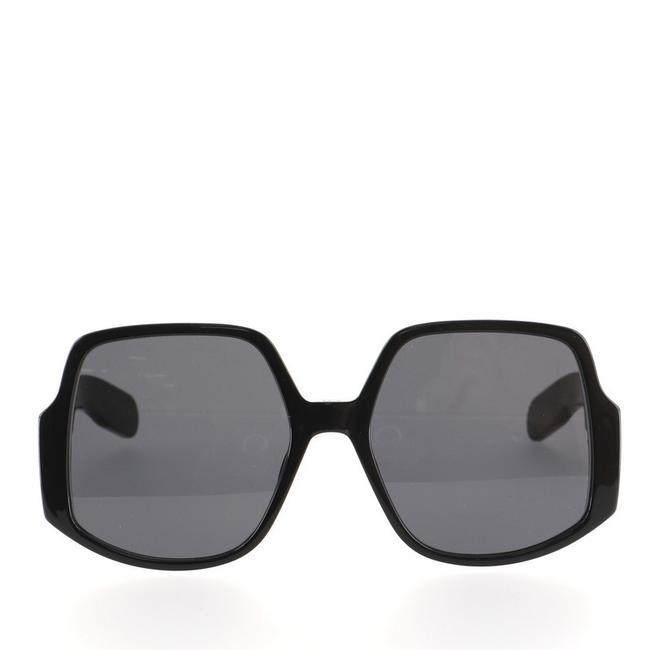 Item - Black Inside Out 1 Oversized Acetate Sunglasses