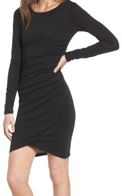 Item - Black XS Nordstrom Ruched Cocktail Dress Size 2 (XS)