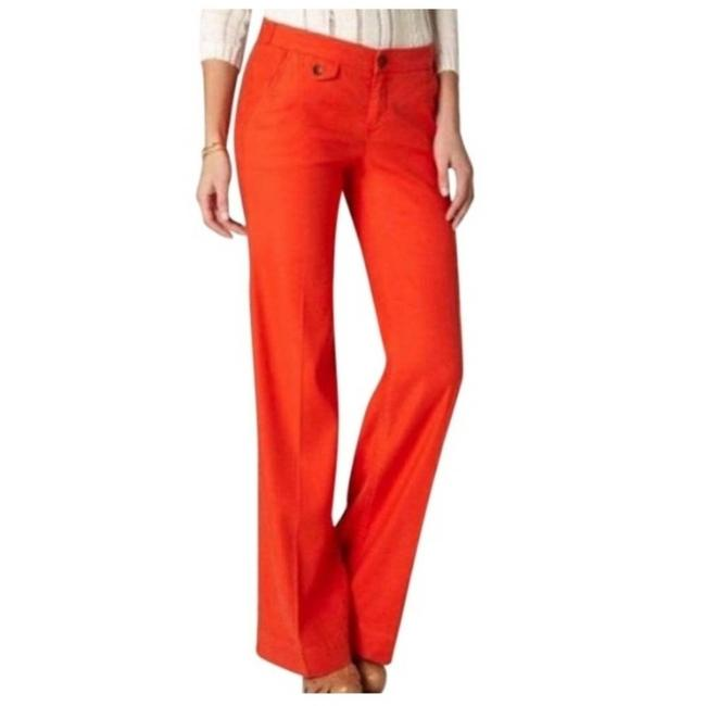 Item - Orange Anthro's Linen Pants Size 2 (XS, 26)