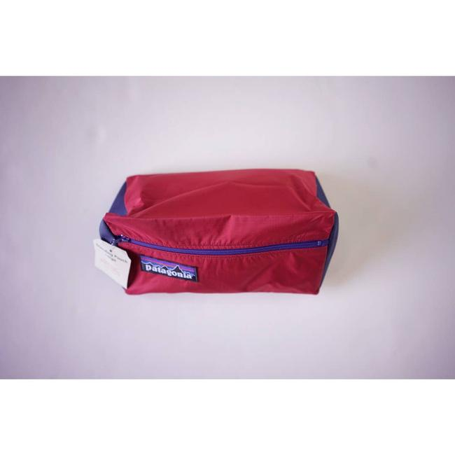 Patagonia Upcycle Standing Pouch Red Weekend/Travel Bag Patagonia Upcycle Standing Pouch Red Weekend/Travel Bag Image 3