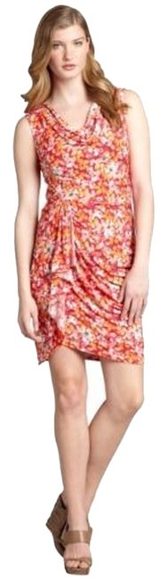 Preload https://img-static.tradesy.com/item/2909275/max-and-cleo-cosmic-pink-ruched-faux-wrap-painterly-sheath-short-casual-dress-size-12-l-0-0-650-650.jpg
