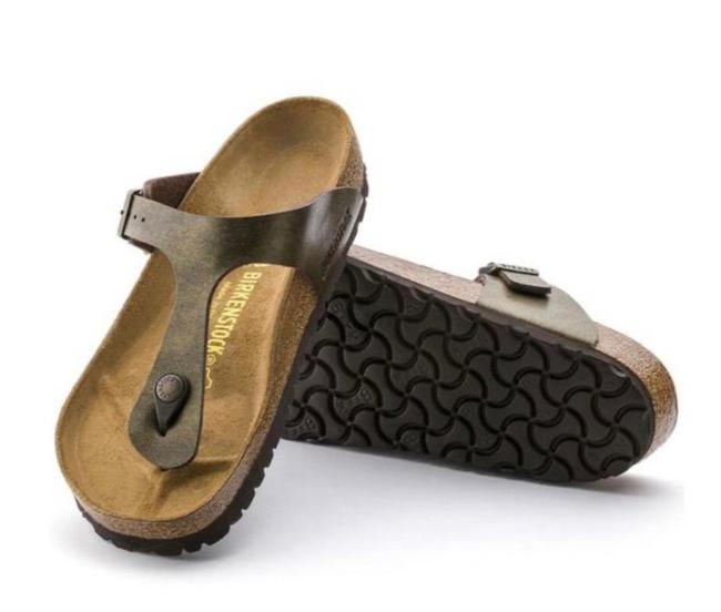 Item - Golden Brown Sandals Size US 6 Narrow (Aa, N)