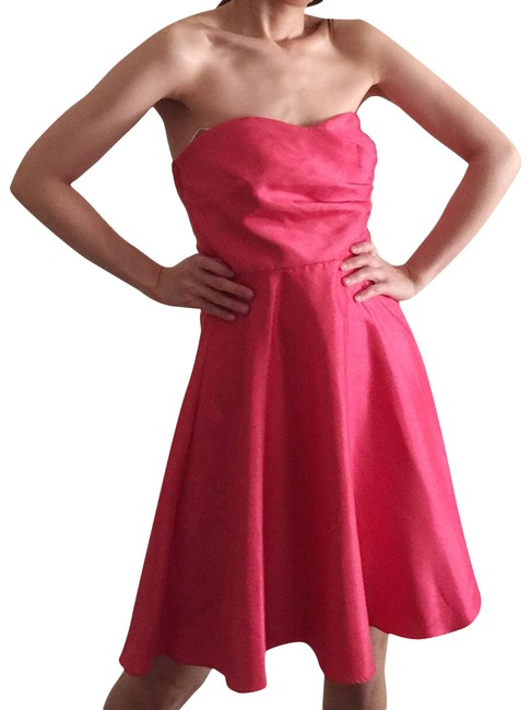 Item - Strapless Satin Effect A-line Dress.-c2. Night Out Dress Size 4 (S)