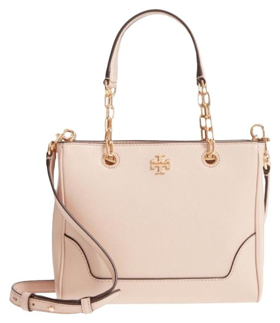 Item - L Small Marsden Pink Leather Tote