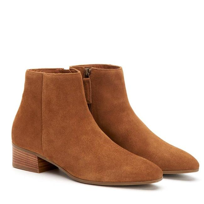 Item - Brown Nwot Fuoco Italian Suede Boots/Booties Size US 7.5 Regular (M, B)