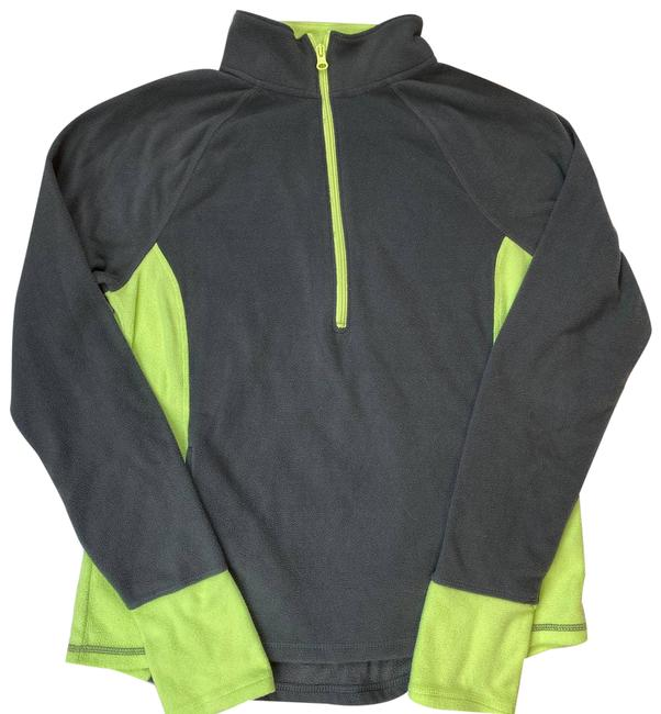 Unbranded Gray So Heritage Neon Yellow Sweatshirt Activewear Outerwear Size 12 (L) Unbranded Gray So Heritage Neon Yellow Sweatshirt Activewear Outerwear Size 12 (L) Image 1