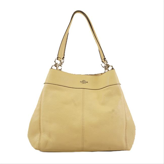 Item - Bag Totebag F31078 Women's Yellow Leather Tote
