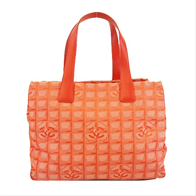 Item - Bag Travel Line Women's Red Color Nylon Tote
