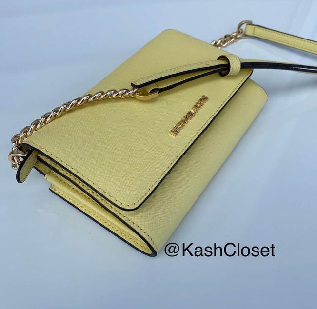 Item - Jst Phone Buttercup Leather Cross Body Bag