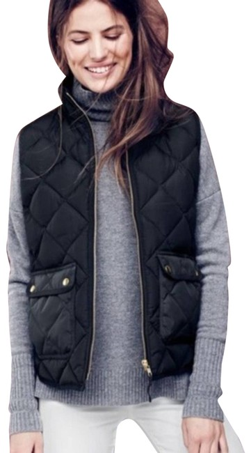 Item - Black Excursion Quilted Down Small Vest Size 6 (S)