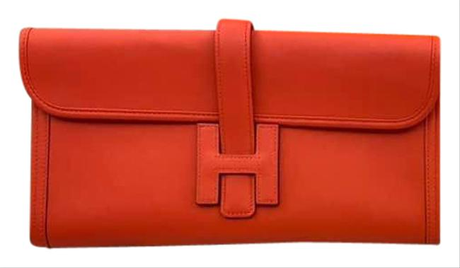 Item - Jige Red Leather Clutch
