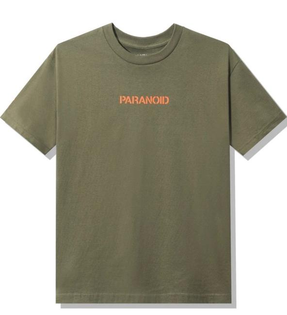 Item - X Undefeated Paranoid Tee Shirt Size 12 (L)